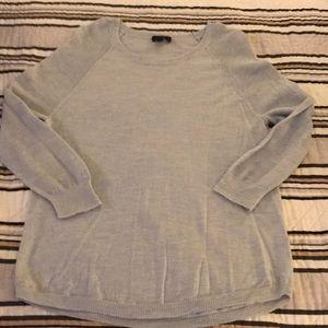 Jcrew Light Blue Wool Sweater